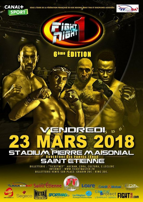 Fight Night One 6 : A.K.B.S affronte le normand !