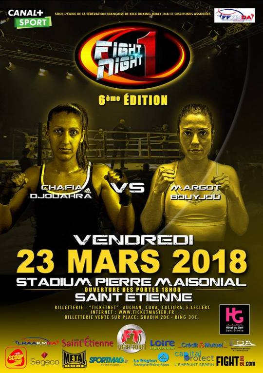 Fight Night One 6 : Djouahra - Bouyjou, une vraie confrontation