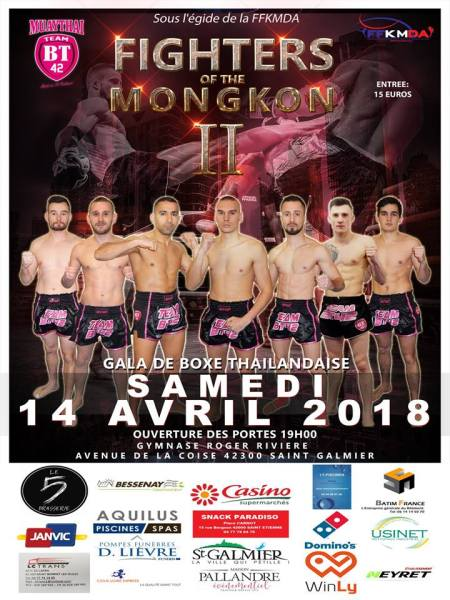 Fighters of the Mongkon 2 : les résultats