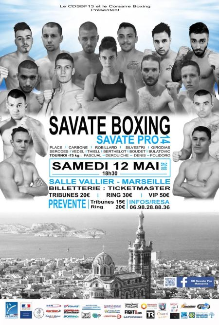 Savate Boxing 14 : Du tournoi au main event