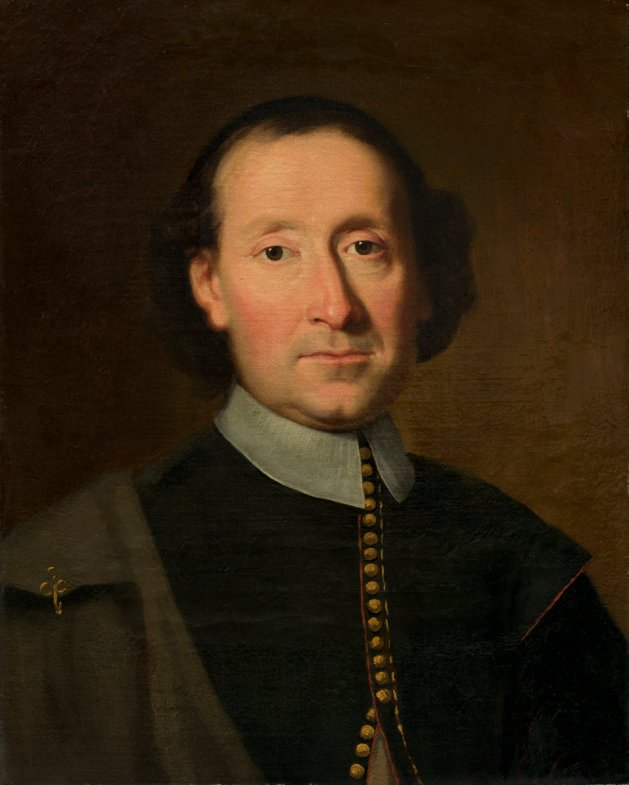 Possibly a portrait of Adrian Vander Donck, but not necessarily him...