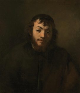 Rembrant's portrait of a young Dutch Jew in the time of Peter Stuyvesant