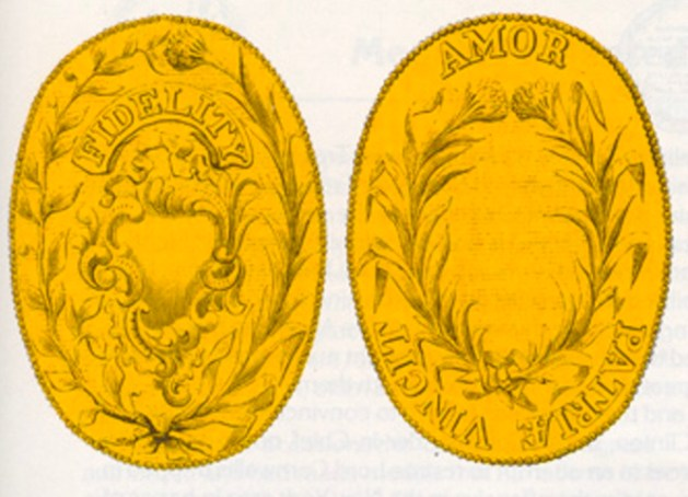 Captors' medals from Congress