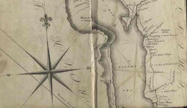 Goodrich 1820 map detail 1