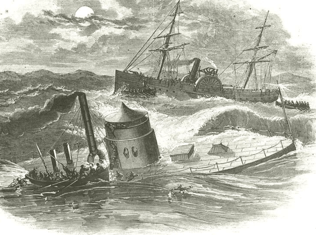 The Sinking of the USS Monitor