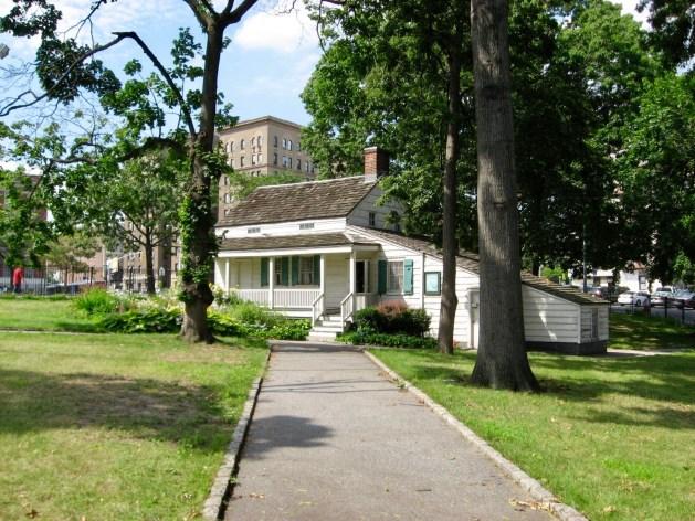 Poe cottage front wide