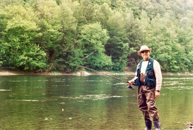 Steiner trout fishing