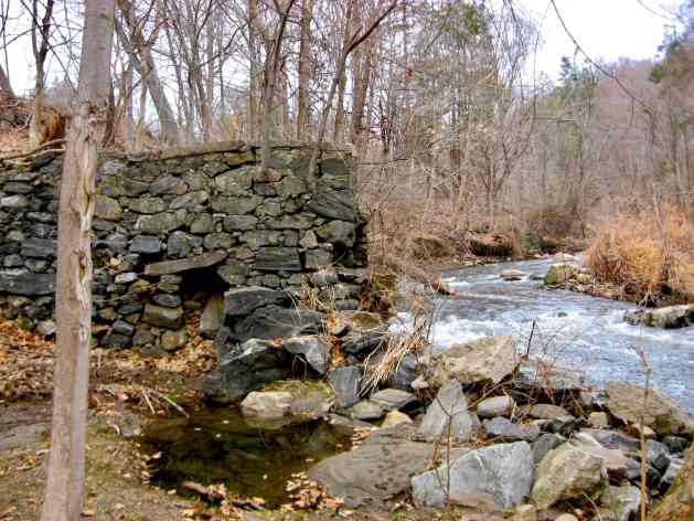 Stream and mill dam, Sleepy Hollow