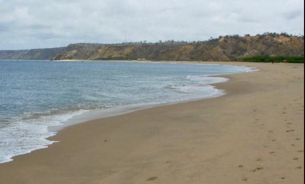 Angola shoreline