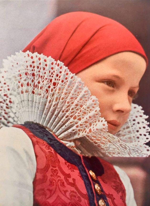 A Czech Moravian girl