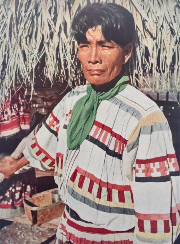 A Seminole chief, Florida