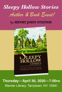 Sleepy Hollow Henry Steiner Book Event