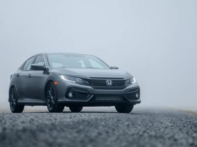 Gray Honda sedan