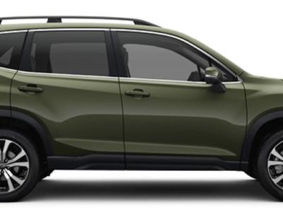 2021 subaru forester screenshot