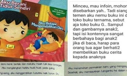 Heboh Buku Anak Berbau Konten Dewasa Viral di Medsos