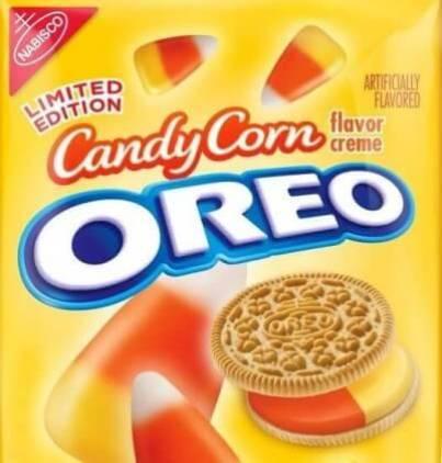 Candy Corn Oreo Flavor