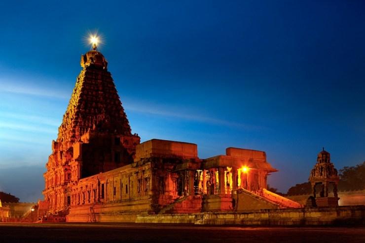 The Brahadeewarar temple