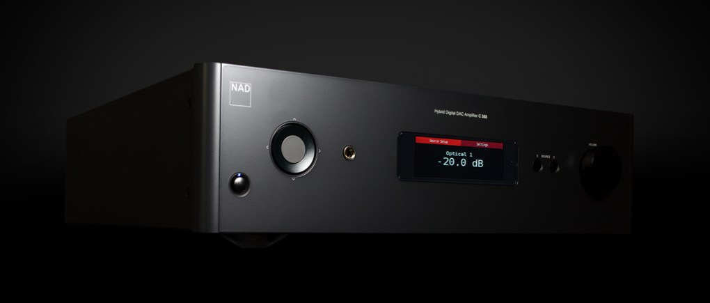 NAD C 388-BluOS Integrated Amplifier