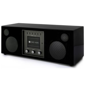 Como Audio DUETTO Bluetooth radio and stereo speaker black