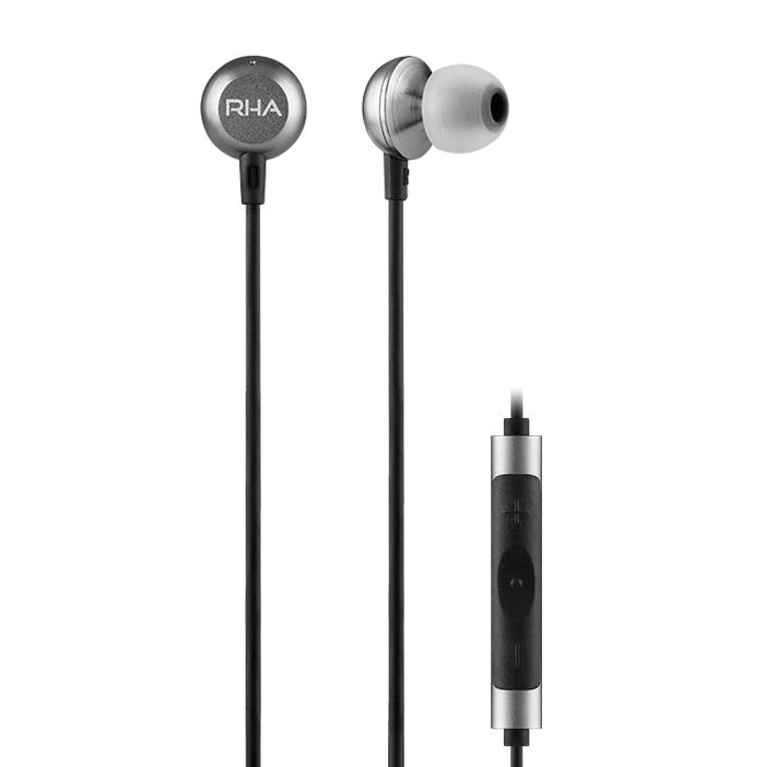 RHA MA650a Auriculares de alta resolución con control remoto y micrófono para Android