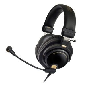 Audio Technica ATH-PG1 Closed-back premium gaming headphones with microphone