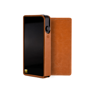 Shanling M3s funda marrón leather case brown