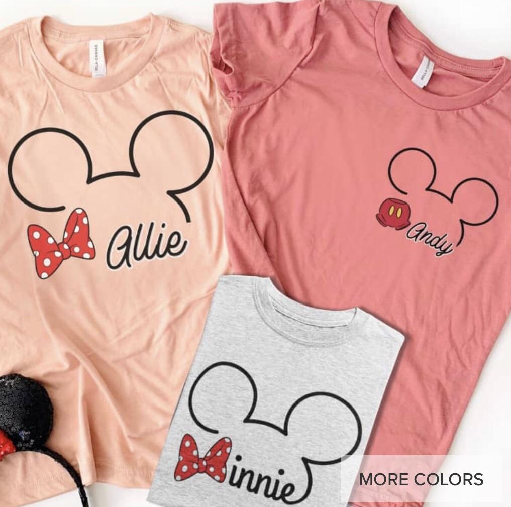 Disney Graphic Tees