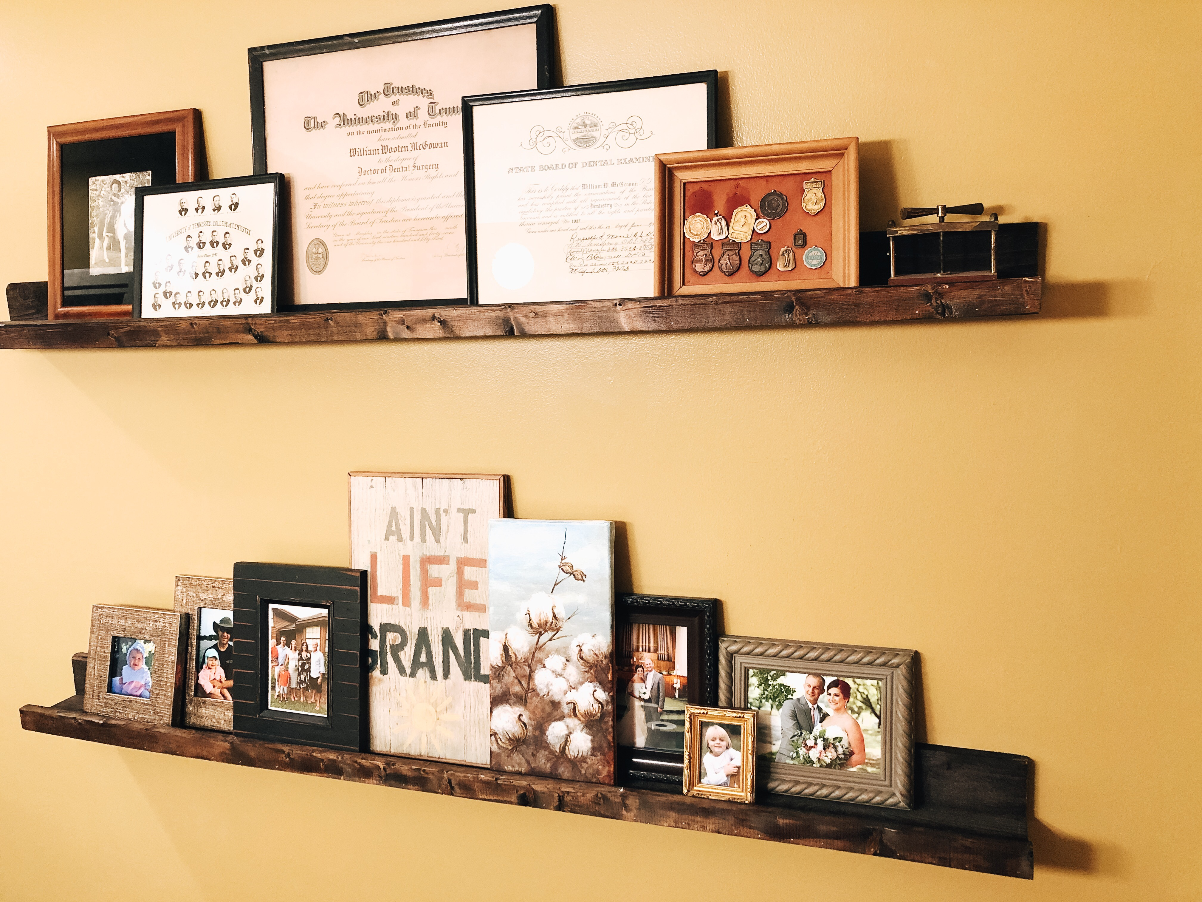 D.I.Y. | Picture Shelf