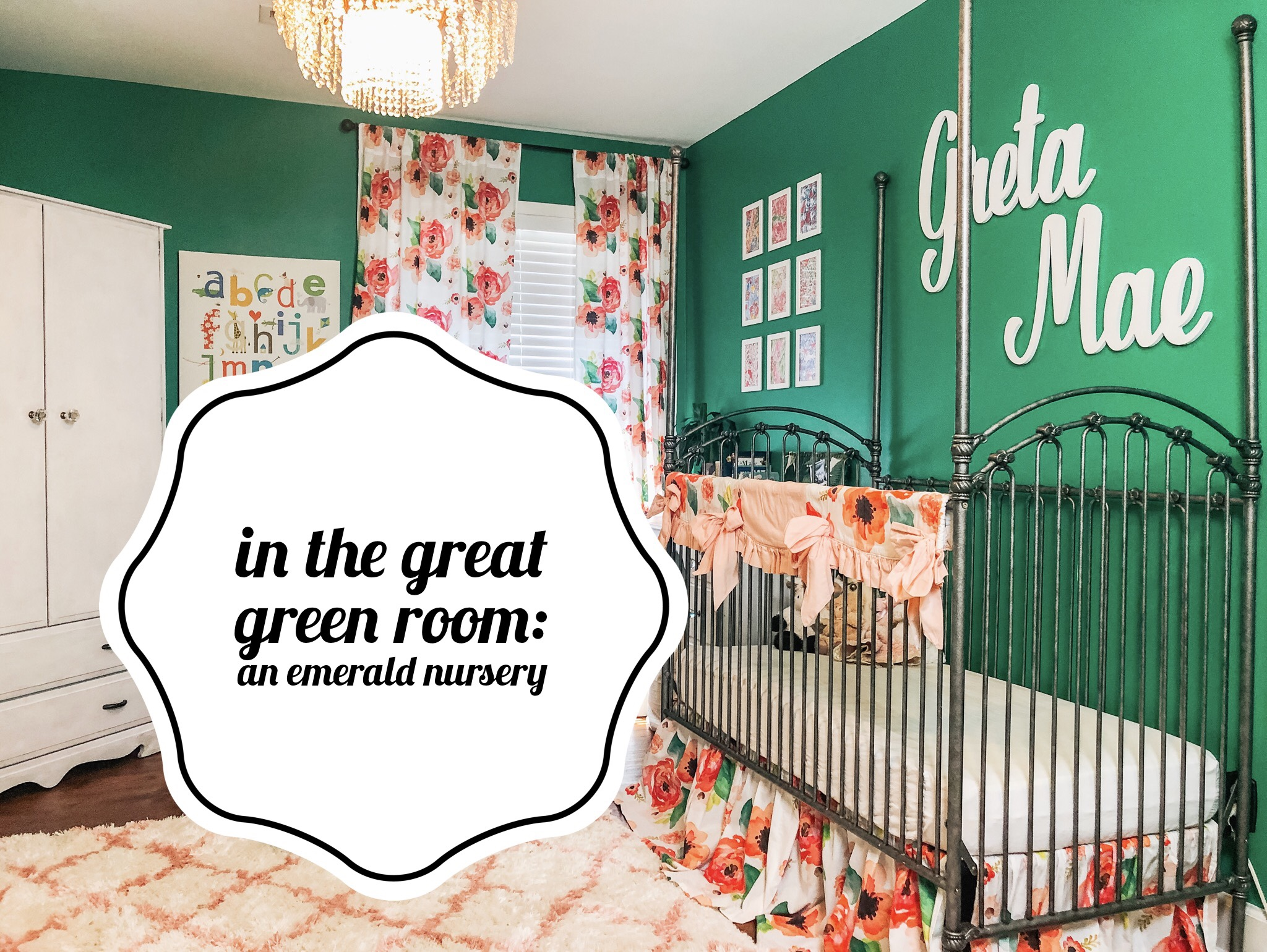 In the Great Green Room | An Emerald Nursery