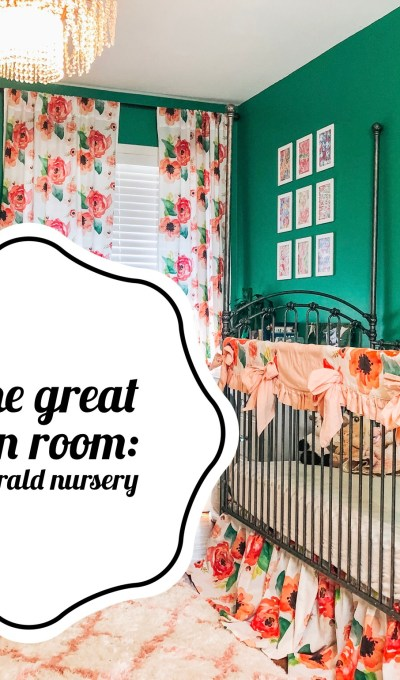 In the Great Green Room   An Emerald Nursery