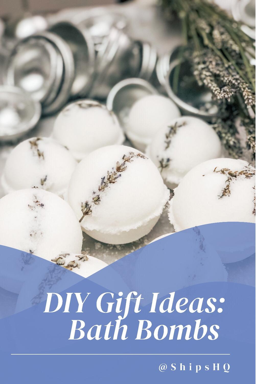 DIY Gift Ideas: Bath Bombs