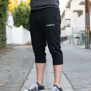 HeadQuarters Tech Fleece 3/4 Joggers Black
