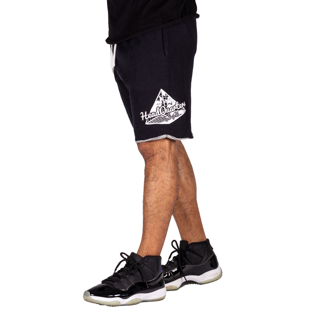 Logo Sweat Shorts Black Heather