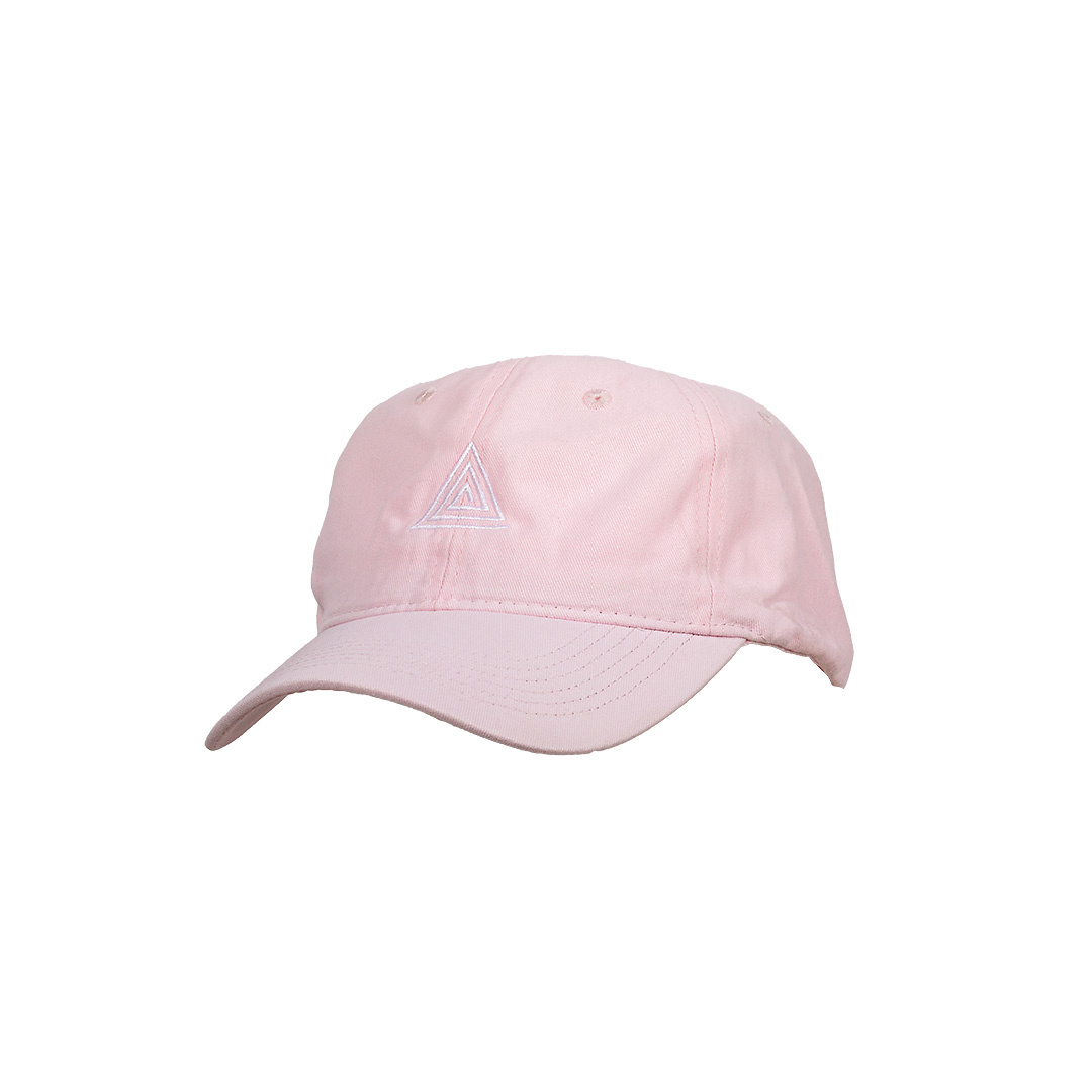 OG Triangle Dad Hat Light Pink