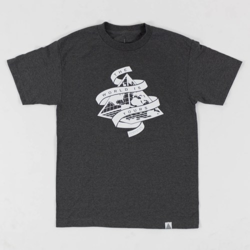 """""""The World is Yours"""" Tee Grey"""