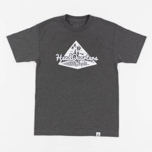 HQ Logo Tee Grey