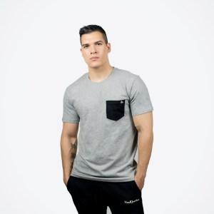 OG Triangle Pocket Tee Grey/Black
