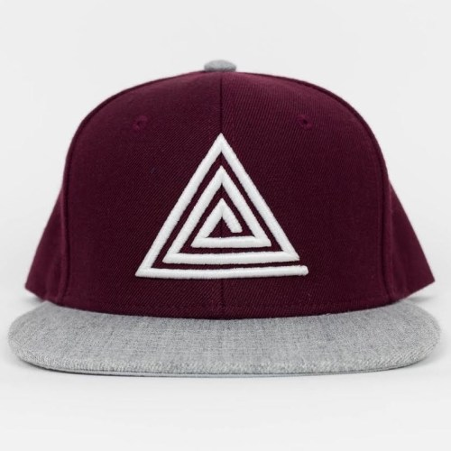 OG Triangle SB Burgundy/Athletic Heather