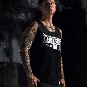 """Doubters"" Tank Black"