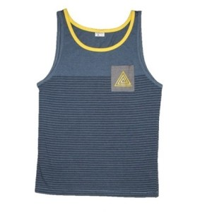 Striped Pyramid Tank Yellow