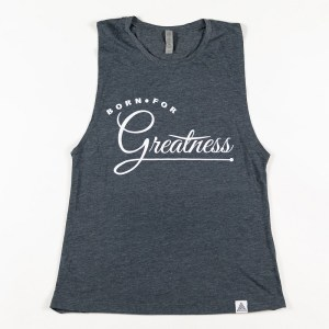 "WMNS ""Greatness"" Muscle Tank Denim"