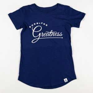 "WMNS ""Greatness"" Scallop Tee Blue"