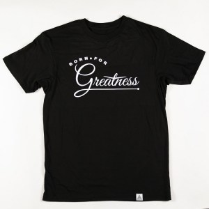 """Greatness"" Tee Black"