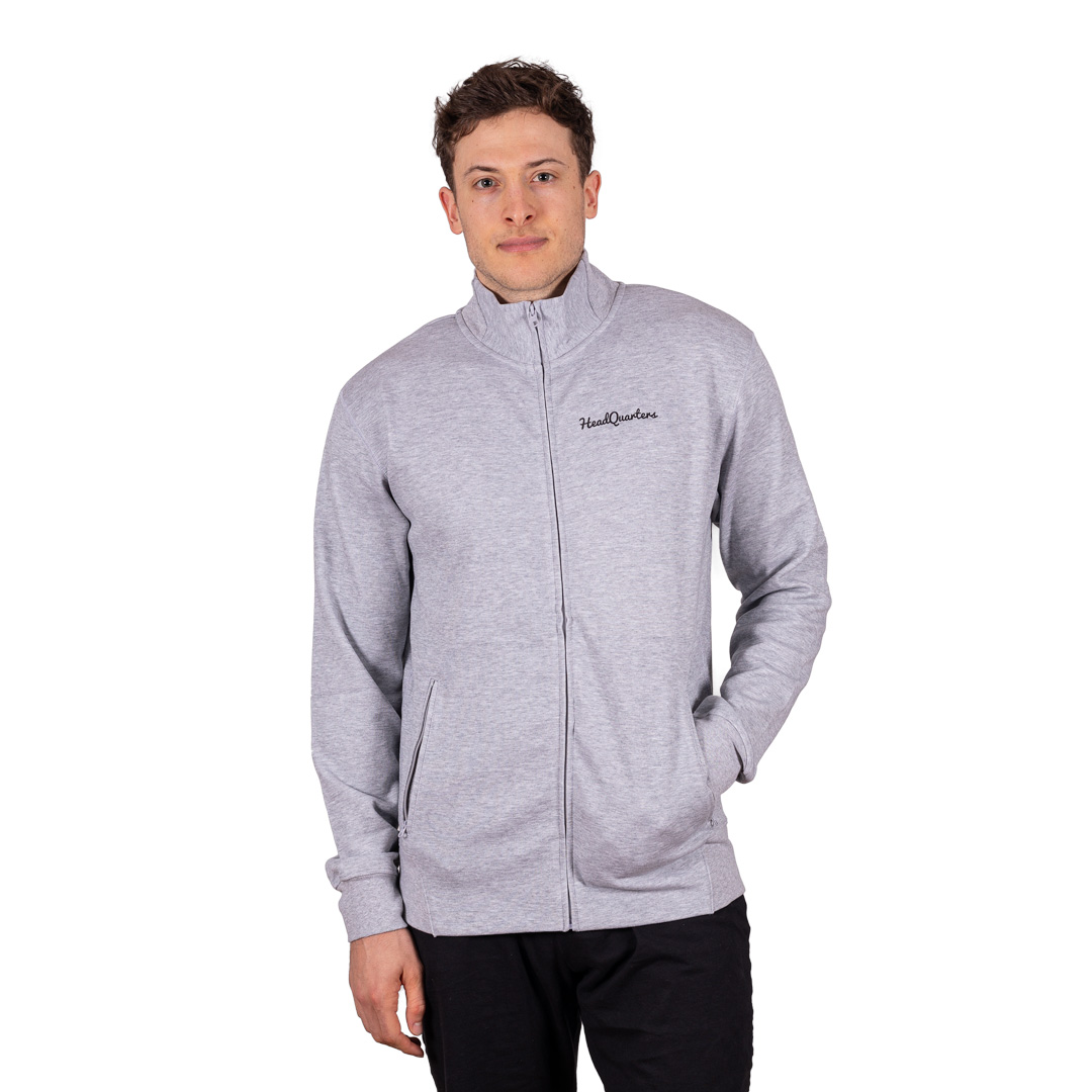 HeadQuarters Tech Fleece Track Jacket Grey