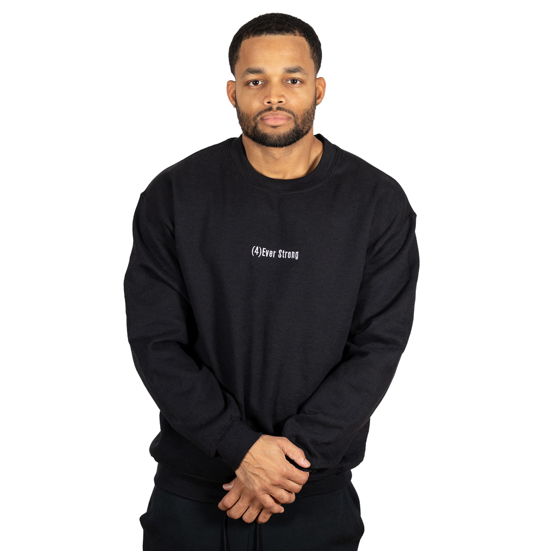 (4)Ever Strong Crewneck Black