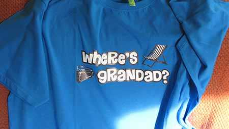 Where's Grandad Tshirt