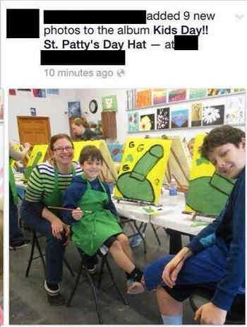 St Patty['s Day with kids