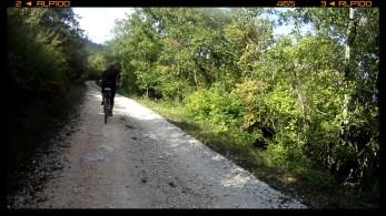 nun bergauf / now uphill