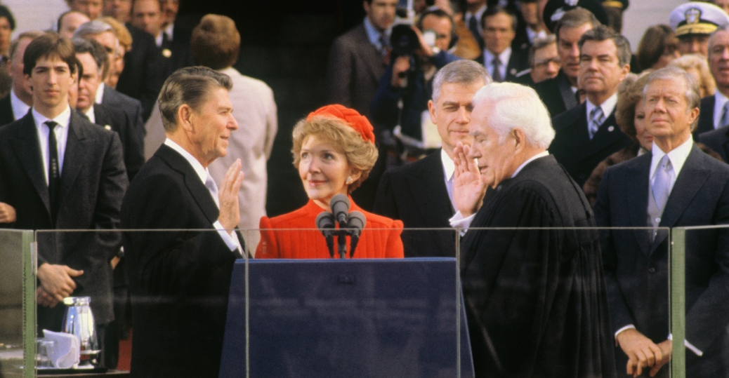 ronald reagan's second inaugural address 1985 Tear down this wall was the challenge made by united states president ronald reagan to soviet union leader mikhail gorbachev to  ronald reagan's berlin wall.