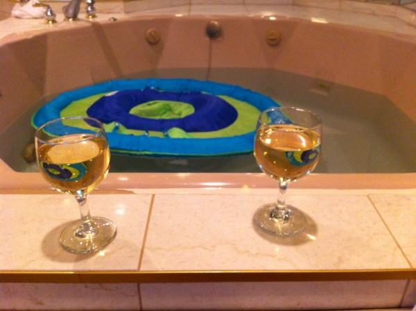 Hot Tub Wine